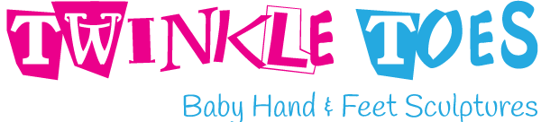Twinkle Toes Baby Hand and Feet Sculptures